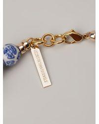 Lizzie Fortunato Brown Modern Kyoto Necklace