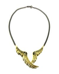 Colette Malouf | Metallic Raven Wing Necklace | Lyst