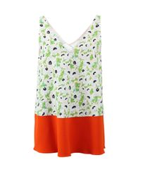 Stella McCartney | Green Marie Tank Blouse | Lyst
