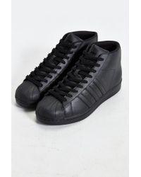 Adidas Originals Black Originals Pro Model Sneaker for men