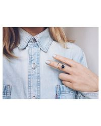 Bing Bang | Metallic Air Amulet Ring | Lyst