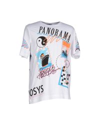 Love Moschino | White T-shirt for Men | Lyst