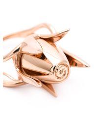 Eddie Borgo | Metallic Rose Bud Ring | Lyst