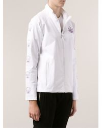 Lucien Pellat Finet - White Zip Jacket - Lyst
