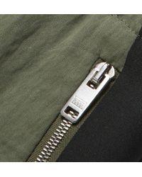 Tim Coppens Green Slim-Fit Crinkled Cotton-Blend Sweatpants for men