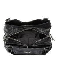 Calvin Klein - Black Pebble Shopper - Lyst