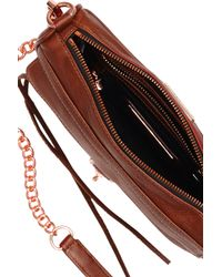 Rebecca Minkoff | Brown Made in NYC Mini Mac | Lyst