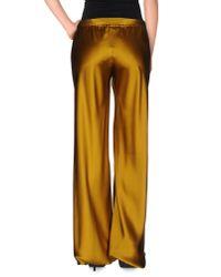 Roberto Cavalli - Orange Casual Pants - Lyst