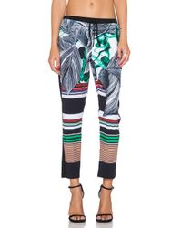 Clover Canyon Multicolor Jade Storm Pant