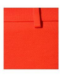 Emilio Pucci Orange Skinny Stretch-Crepe Pants