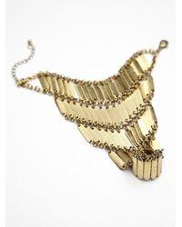 Noir Jewelry - Metallic Womens Sentry Handpiece - Lyst