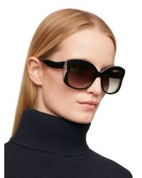 kate spade new york | Black Jakalyn Sunglasses | Lyst