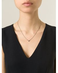 Puro Iosselliani - Blue Sapphire Ring Necklace - Lyst