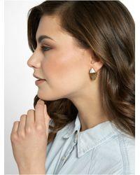 BaubleBar - Metallic Organic Fringe Ear Jackets - Lyst