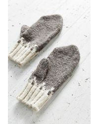 Urban Outfitters Gray Pointy Arctic Mitten