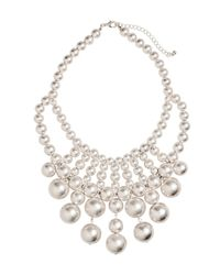 H&M | Metallic Beaded Necklace | Lyst