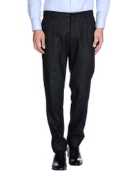 AMI Black Casual Trouser for men