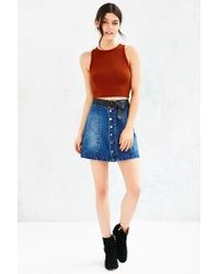 BDG | Brown Classic Cropped Tank Top | Lyst