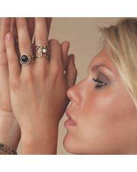 Pamela Love | Blue Sunset Ring In Brass | Lyst