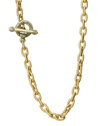"Jay Strongwater | Metallic Jeanne 18.5"" Necklace 