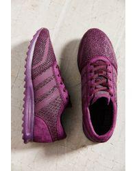 Adidas | Purple Originals Los Angeles Snake Sneaker | Lyst