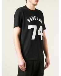 Givenchy Black Favelas 74 Tshirt for men
