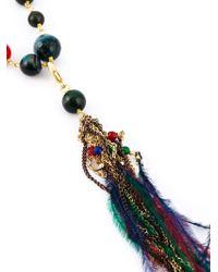 Rosantica - Metallic 'larice' Necklace - Lyst