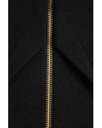 Roland Mouret Black Sitona Wool-crepe Skirt