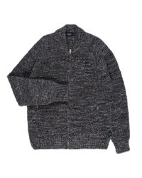 Paul Smith | Gray Men's Grey Mélange Wool-alpaca Zip-through Cardigan for Men | Lyst