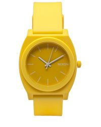 Nixon | Yellow Time Teller Watch for Men | Lyst