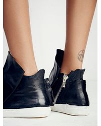 Free People - Black A.s.98 Womens Solera Hi Top Sneaker - Lyst