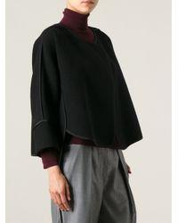 Chloé - Black Cropped Jacket - Lyst