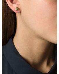 Marc By Marc Jacobs - Metallic 'Smiley' Stud Earrings - Lyst