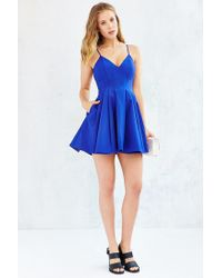 Keepsake | Blue Star Crossed Dress | Lyst