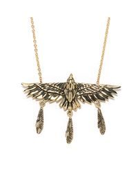 Pamela Love | Metallic Aguila Necklace - Br | Lyst