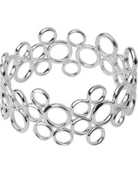 Links of London | Metallic 20/20 Sterling Silver Bangle, Women's | Lyst