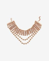 Fallon | Metallic Shalom High-Neck Beaded Choker | Lyst