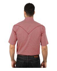 Stetson | Red Italia Print On Poplin for Men | Lyst