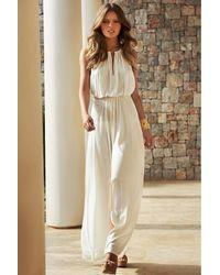 Melissa Odabash | Natural Maxi Dress Rachel | Lyst