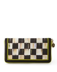 Mackenzie-Childs Multicolor Courtly Check Wallet