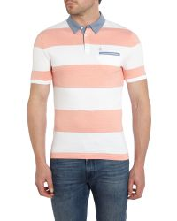Original Penguin - Pink Pique Polo Shirt for Men - Lyst