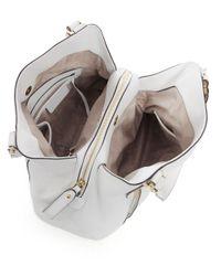 MICHAEL Michael Kors - White Bowery Large Shopper Bag - Lyst