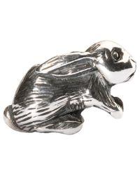 Trollbeads | Metallic Arabian Hare Sterling Silver Charm | Lyst