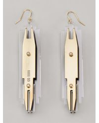 Sarah Angold Studio | Metallic 'Shilo' Earrings | Lyst