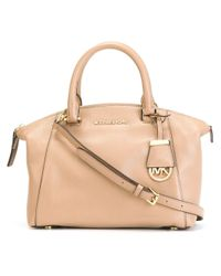 Michael Kors - Natural Small Riley Satchel - Lyst