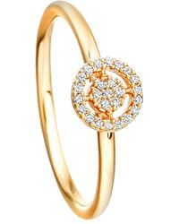 Astley Clarke | Metallic Mini Icon Aura 14ct Yellow-gold And Diamond Ring | Lyst