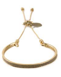 Eddie Borgo | Metallic 'Id' Bracelet | Lyst