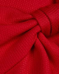 Ted Baker - Red Nuhad Bow Detail Dress - Lyst