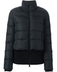 Duvetica - Black Zip-Up Quilted Jacket  - Lyst