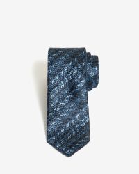 Ted Baker | Blue Textured Weave 5.5cm Tie for Men | Lyst